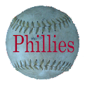 Simple Phillies Schedule logo