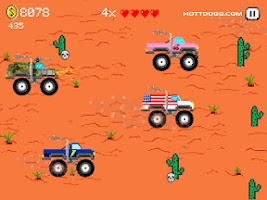 Screenshot of Desert Rally Racing Adventure