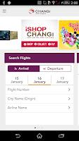 Screenshot of iChangi