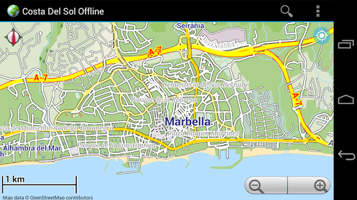 Offline Map Costa del Sol|玩旅遊App免費|玩APPs