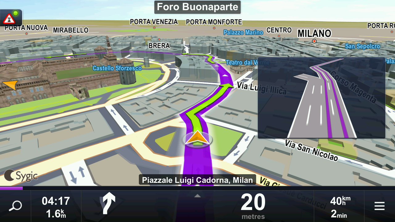Sygic Taxi Navigation - screenshot