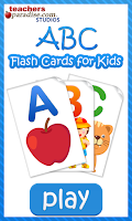 Screenshot of ABC Flash Cards for Kids Game