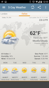 Weather & Clock Widget Android v3.7.2