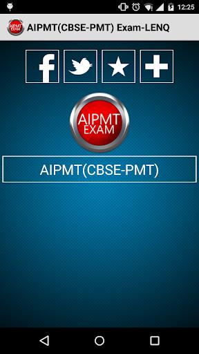 AIPMT CBSE-PMT Exam-LENQ