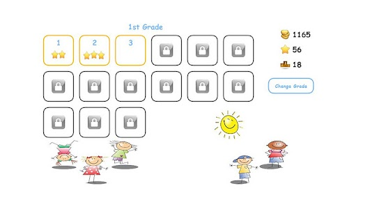 Cool Fun Math Kids Game puzzle - screenshot thumbnail