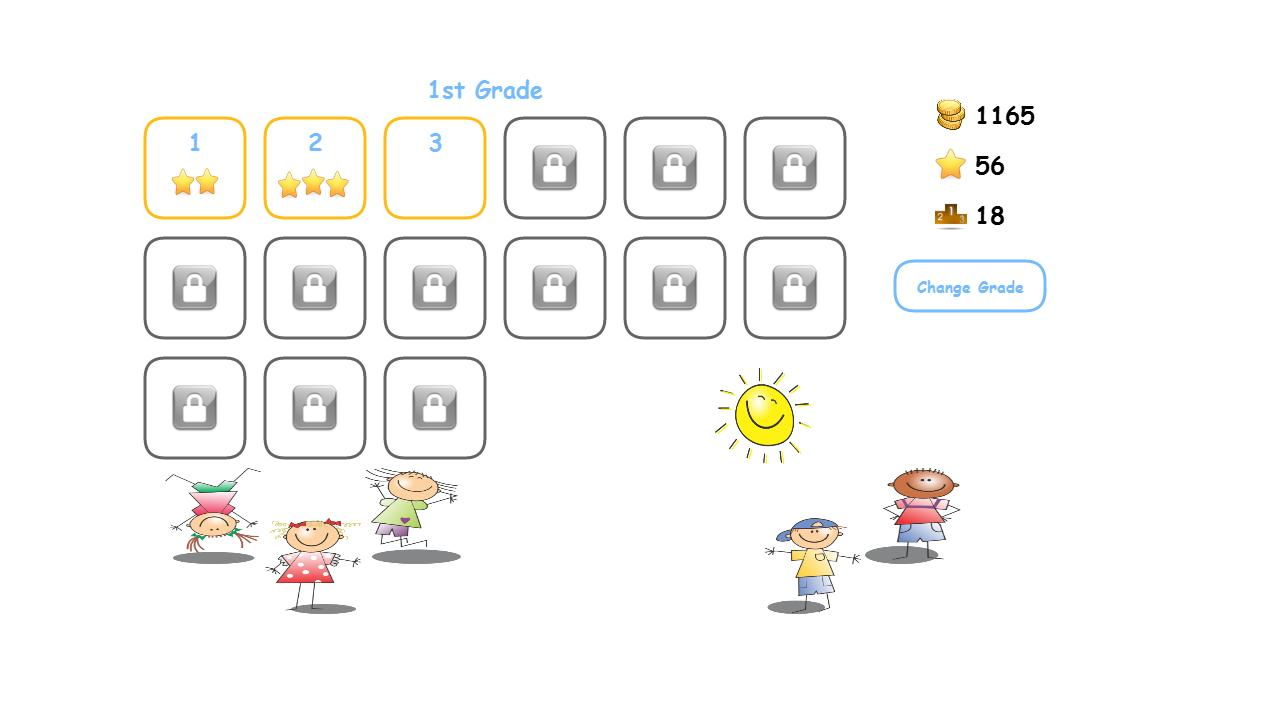 MathOpen Cool Kids Math Game - screenshot