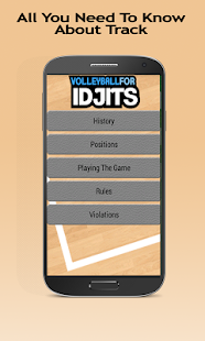 Volleyball For Idjits