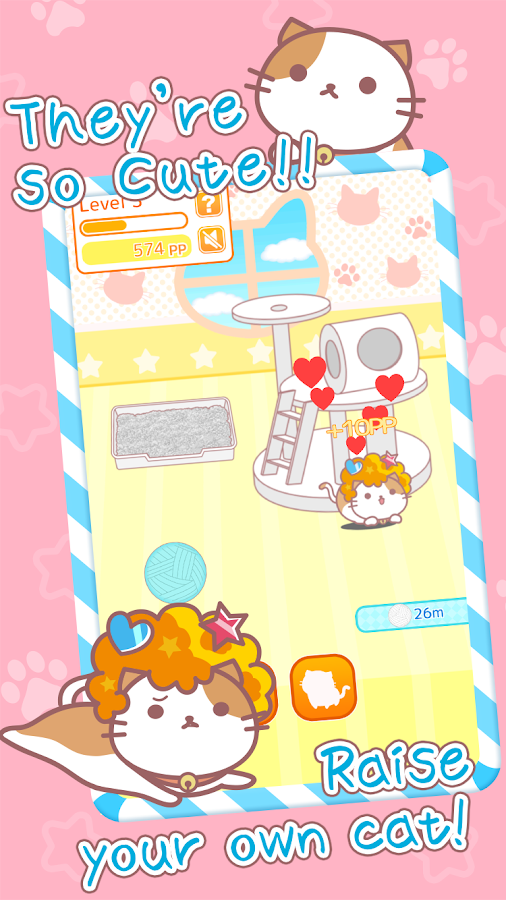 AfroCat-Cute and free pet game- screenshot