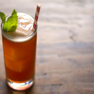 Raspberry and Rum Iced Tea