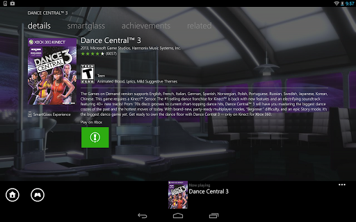 Xbox 360 SmartGlass 1.85 screenshots 6