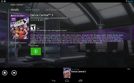 Xbox 360 SmartGlass Screenshot 1