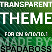 CM10/CM11 Transparent Green