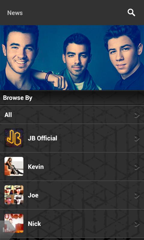 Jonas Brothers - screenshot