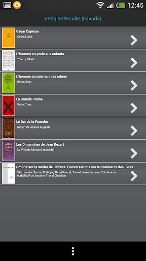 ePagine Reader