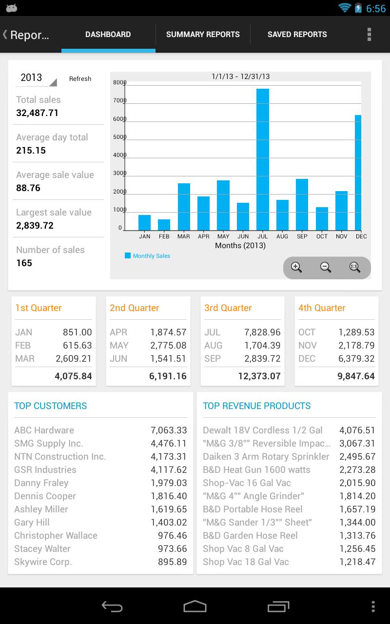 MobileBiz Pro - Invoice App Screenshot 11