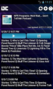 OneCast - podcast simply - screenshot thumbnail