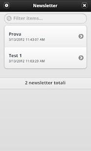 Newsletter- screenshot thumbnail
