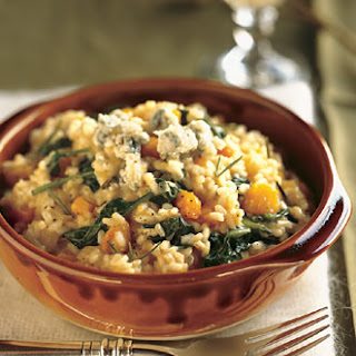 Butternut Squash, Rosemary, and Blue Cheese Risotto Recipe