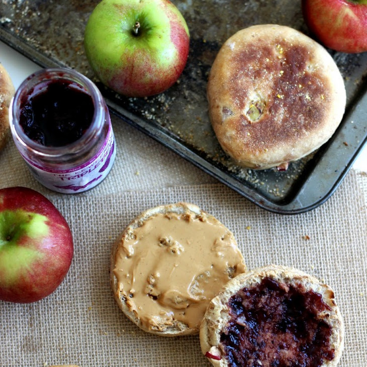 Apple Spiced English Muffins Recipe