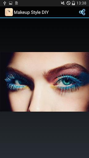 化妝造型參考圖