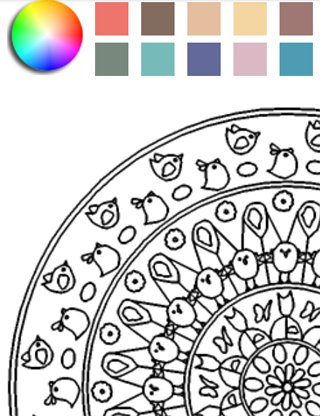 Mandalas Coloring- screenshot
