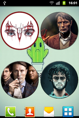 Hannibal Clock Widget