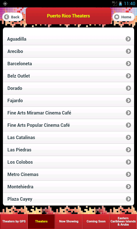 Caribbean Cinemas - screenshot