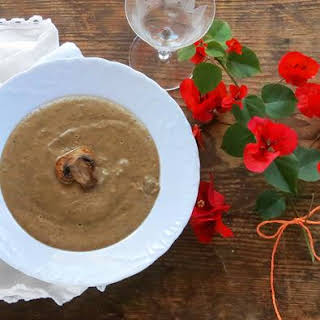 Pressure Cooker Cream of Mushroom Soup.