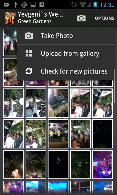 PicAround - Shared Albums - screenshot