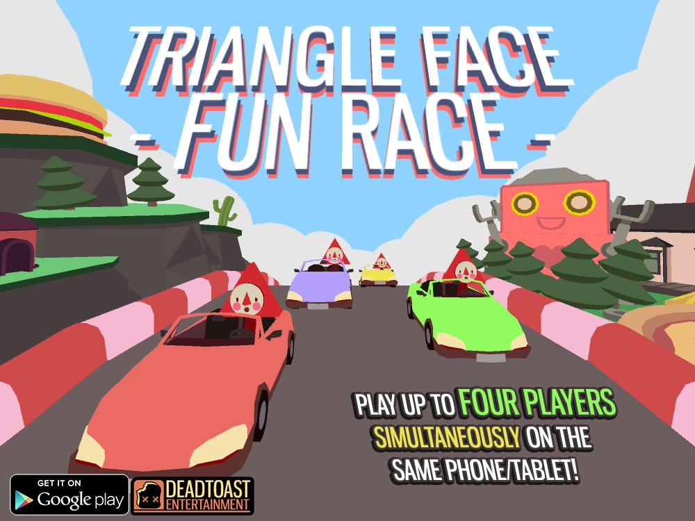 Triangle Face Fun Race- screenshot