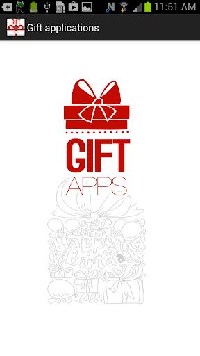 Gift apps