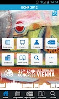 Screenshot of ECNP 2012