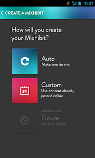 Mixhibit - screenshot thumbnail