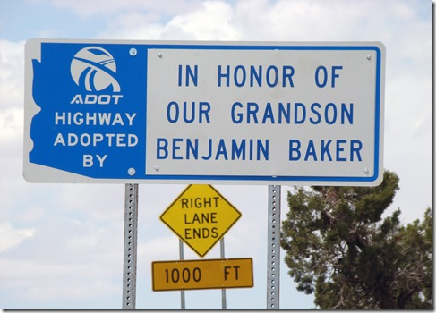 20080508-2 Benjamin's highway sign 2