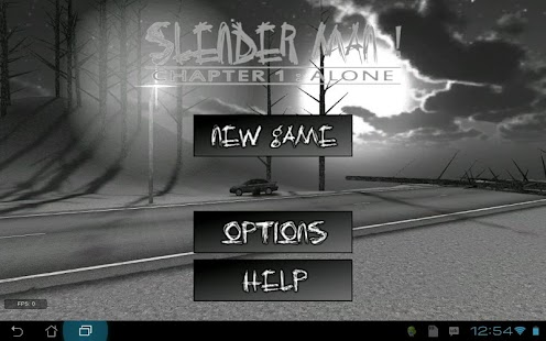 Slender Man! Chapter 1: Alone v6.7