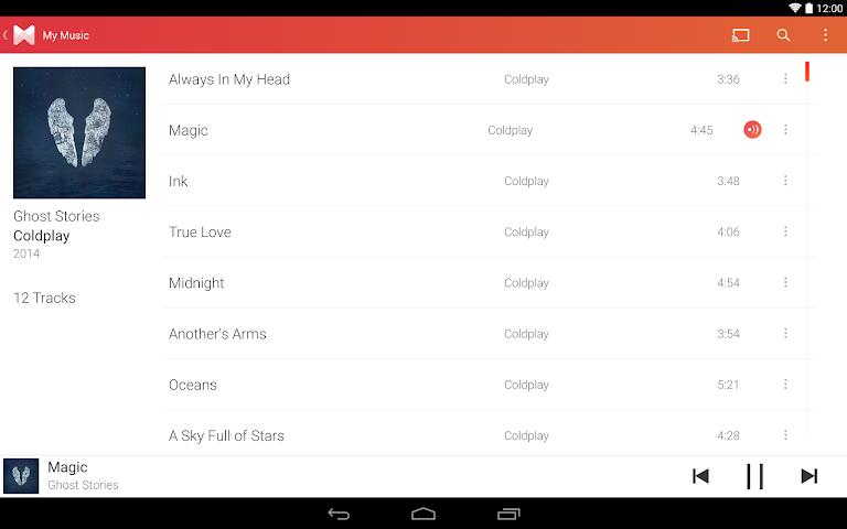 android Musixmatch Songtexte Screenshot 4