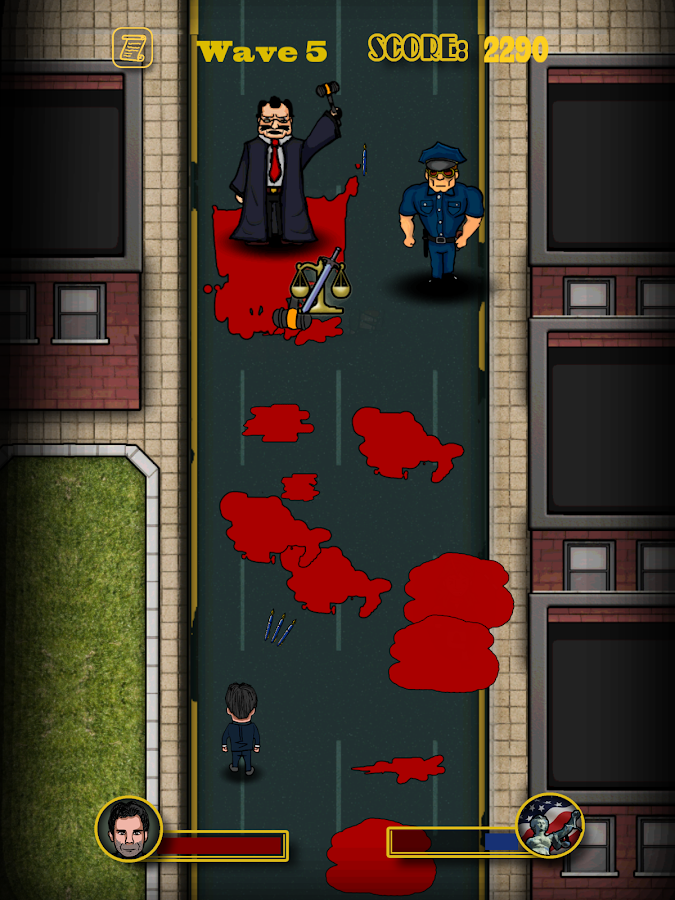 Murdering Lawyers- screenshot