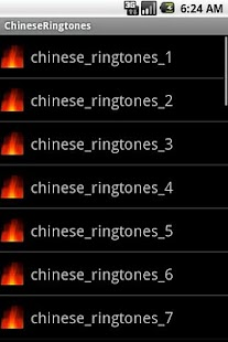 ChineseRingtones - screenshot thumbnail