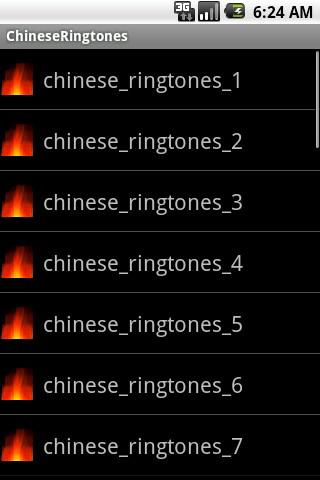 ChineseRingtones - screenshot