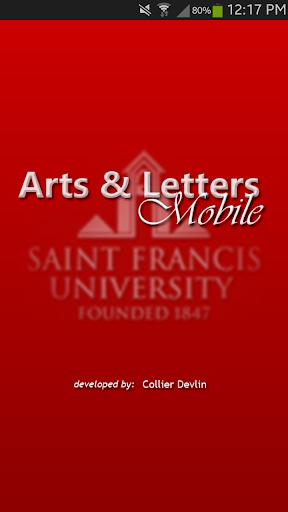 SFU Arts Letters Mobile