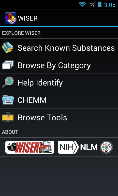 WISER for Android: captura de pantalla