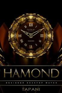 HAMOND Luxury Clock Widget