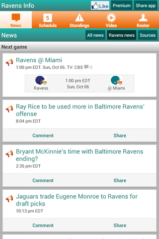Baltimore Football - screenshot