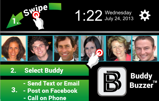 BuddyBuzzer™ Trial Version - screenshot