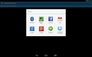 Screenshot of FRITZ!App Cam