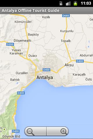 Antalya Offline Tourist Maps