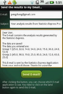 Statistics Express Pro - screenshot thumbnail