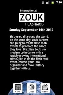 Zouk Flash Mob- screenshot thumbnail