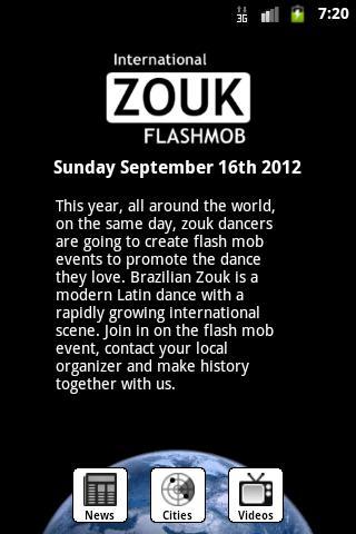 Zouk Flash Mob- screenshot