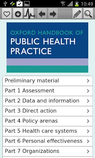 Oxford Handbook Publ Health Pr